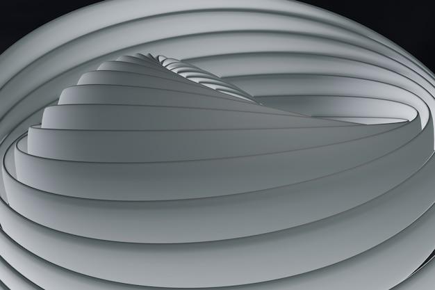 Background white line curve design