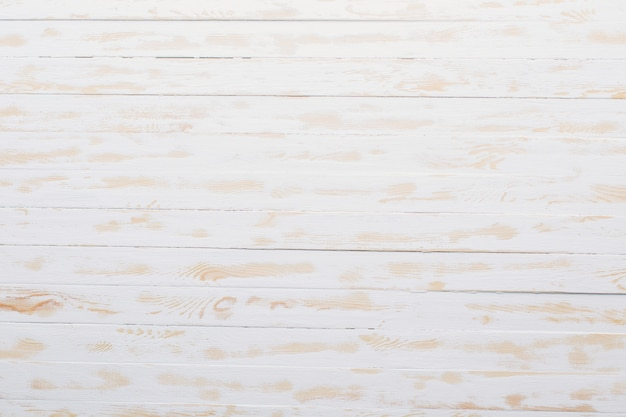 Background of white wooden planks
