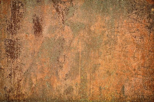錆びた金属表面テクスチャの背景