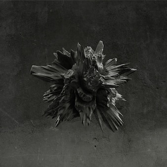 黒の形、テクスチャの背景