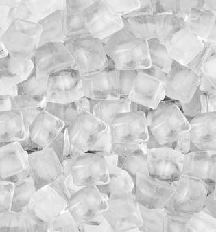白色光で角氷の背景