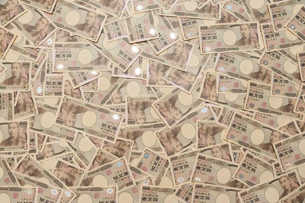 1万円紙幣の日本貨幣の背景