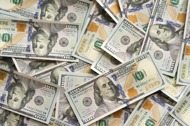 お金の背景米ドル