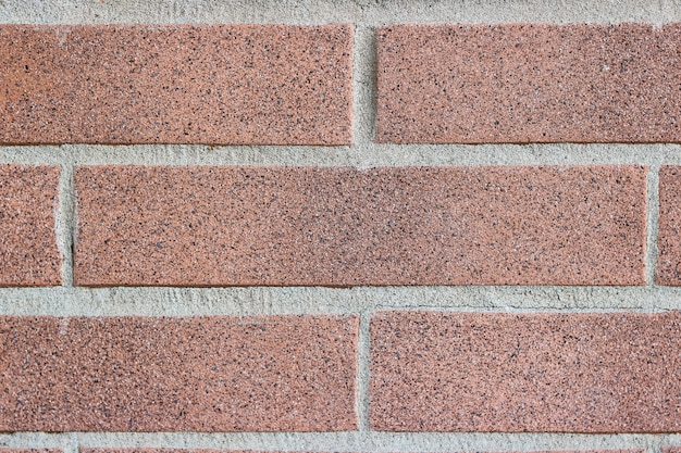 Background with old brick. brown block texture