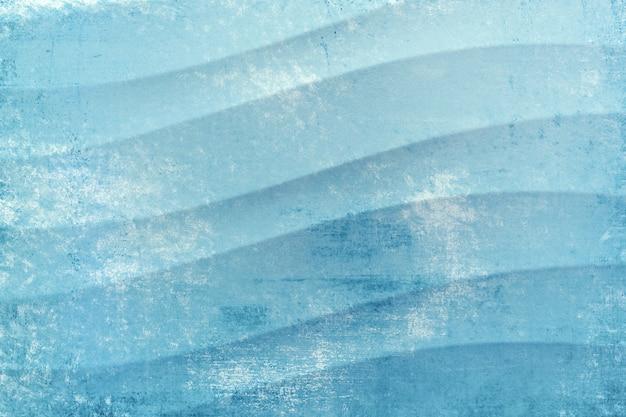 テクスチャの波線の背景青と白の色正方形乱雑な空白のテンプレートキャンバスカバー