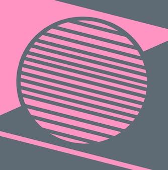 Фон с модным геометрическим дизайном подходит для обложек ваучеров, плакатов, листовок