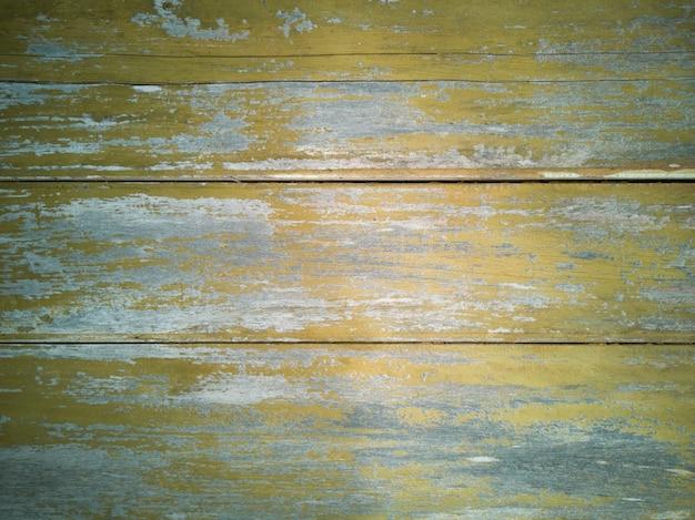 Фон с желтой текстурой дерева в возрасте
