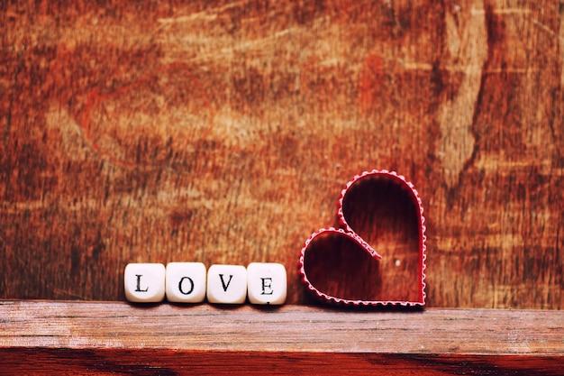 배경 나무 심장 모양 사랑