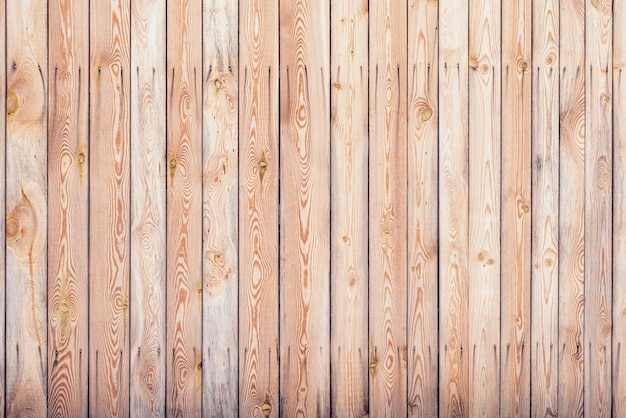 Background of wooden planks with nails