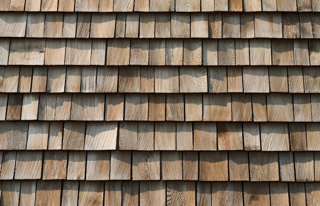 Background of wooden tile wall