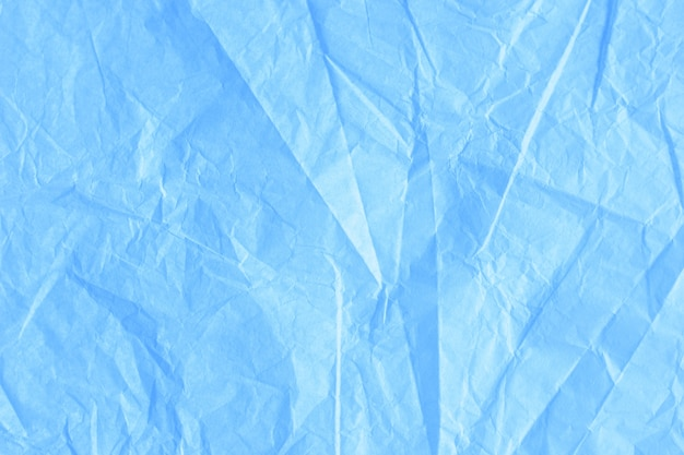 Backgrounf of sift crumpled craft tissue wrapping paper texture
