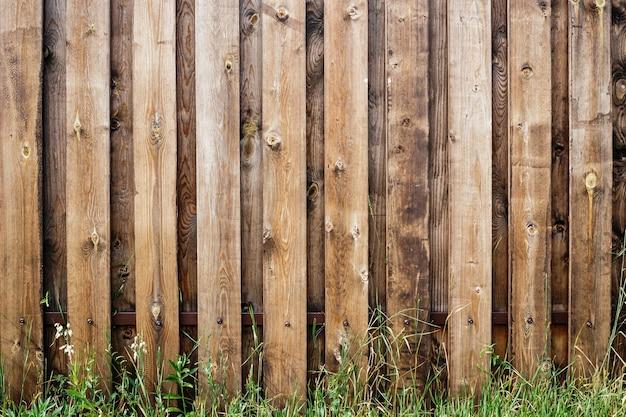 木製の柵板の背景
