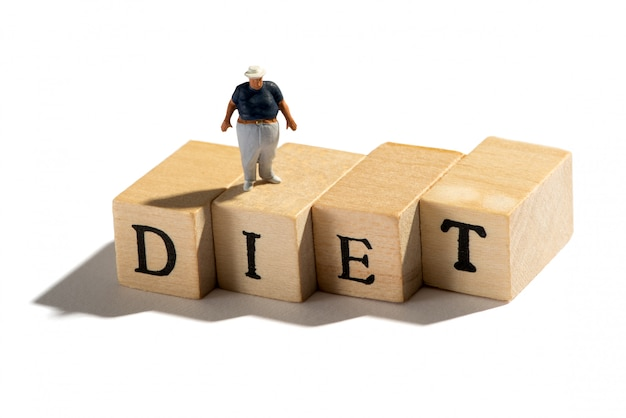 Bad diet leading to obesity and weight problems