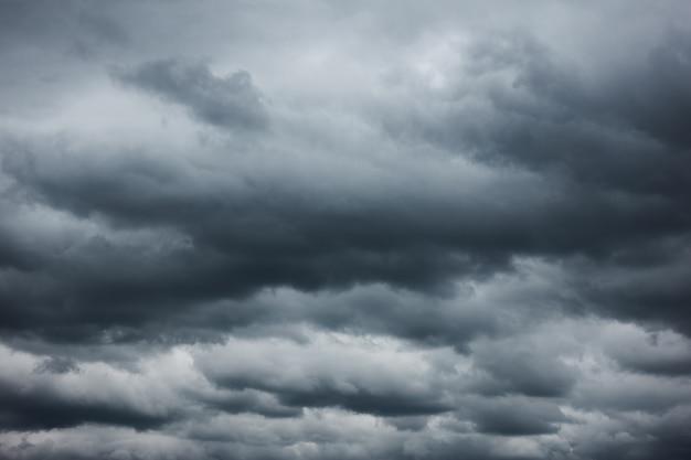 나쁜 날씨 - 폭우 구름, 배경으로 사용될 수 있음