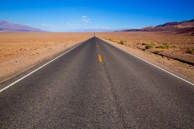 Badwater road death valley national park california