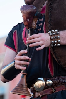 Bagpipe musical instrument