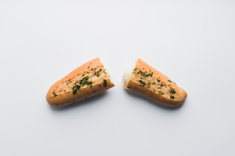 Baguette with garlic butter