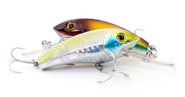 Приманка для рыбалки - ваблеры изолированные