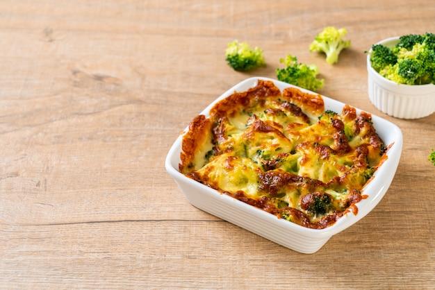 구운 콜리 플라워와 브로콜리 치즈