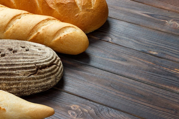 Bakery bread assortment.