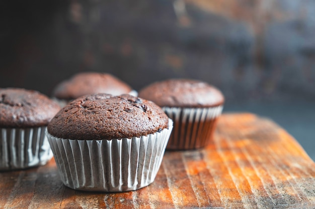 Bakery chocolate cupcakes