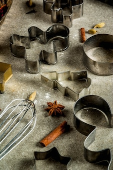 Baking equipment and ingredients