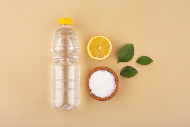 重曹酢とレモンの洗浄用