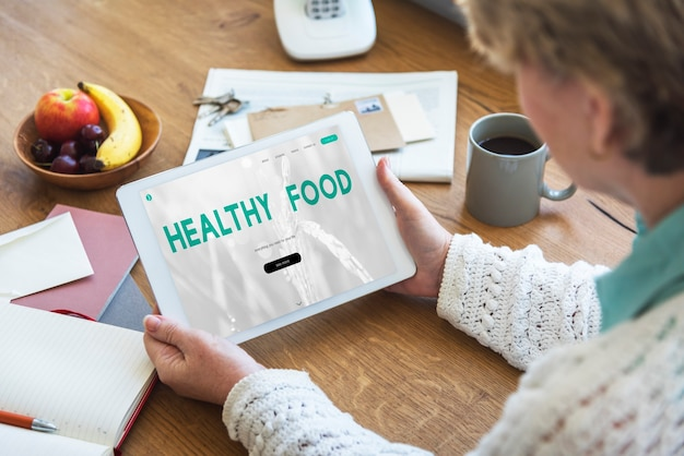 バランスダイエットフィットネス健康食品ライフコンセプト