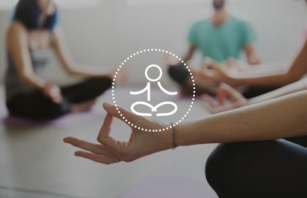 バランスヘルスケア健康的な生活瞑想