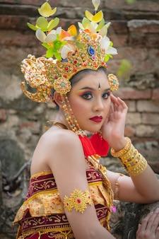 Bali asian portrait women