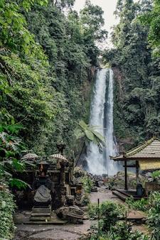 Bali waterfall, indonesia
