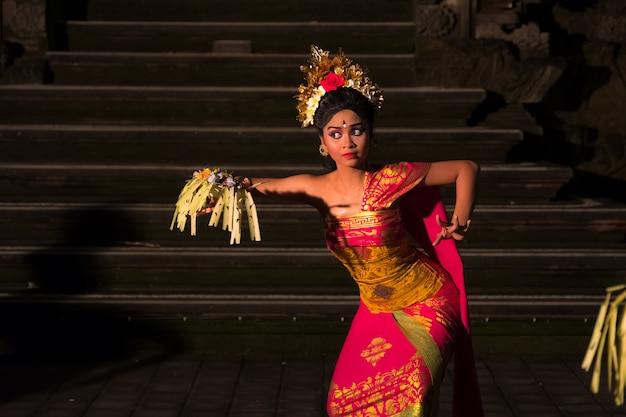 Balinese traditional dance in ubud.