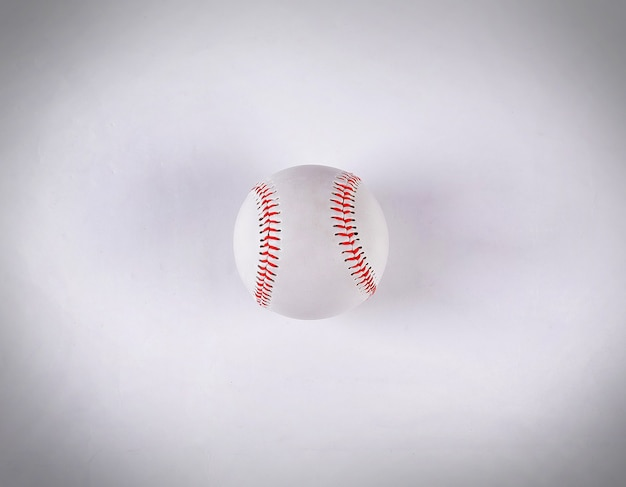 The ball in baseball. isolated on a white background.