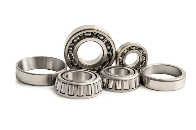 Ball bearing stainless metal roller for machine industrial angular contact