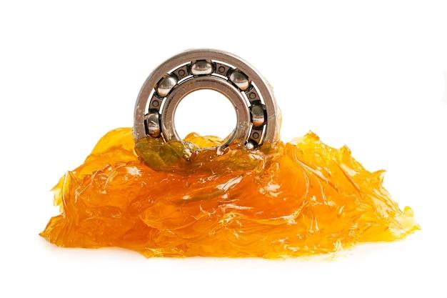 Шарикоподшипник из нержавеющей стали с литиевой смазкой для машинной и промышленной смазки.