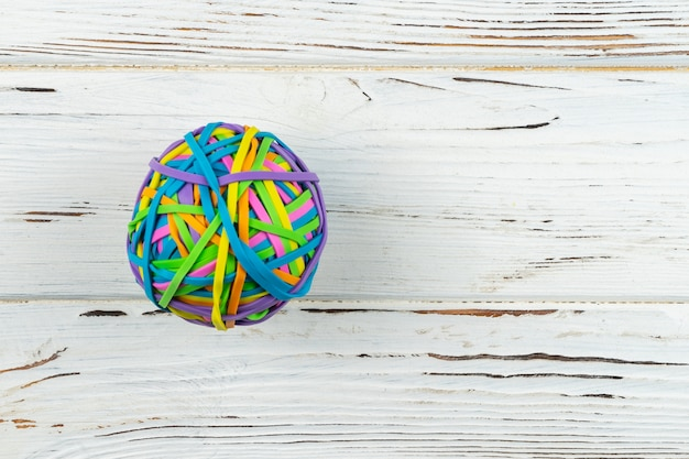 Резиновая полоса ball.colful резинкой ремешок бумажных купюр