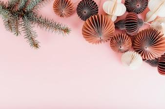Ball garland decorations