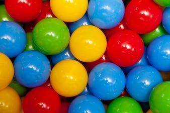 Ball joy colorful play balls background fun
