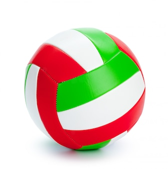 The ball for volleyball