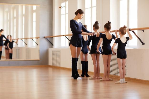 女の子のためのバレエ学校