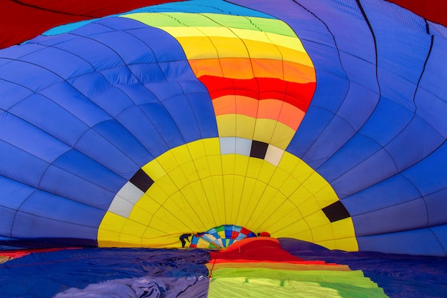 Фестиваль воздушных шаров в провинции чианграй, таиланд.