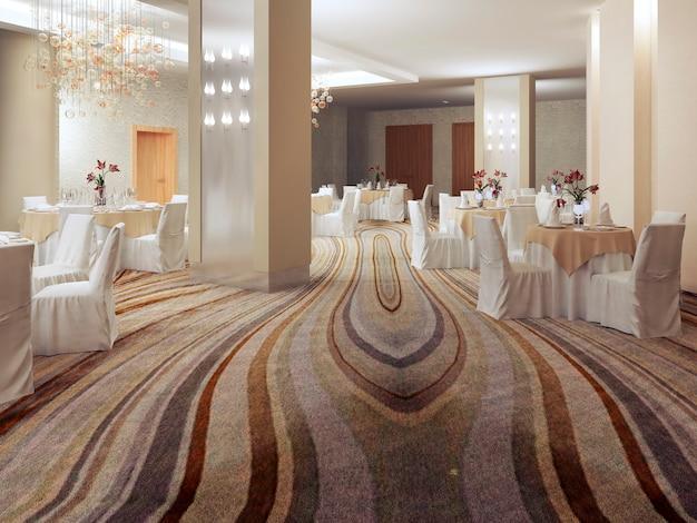 Ballroom in modern style