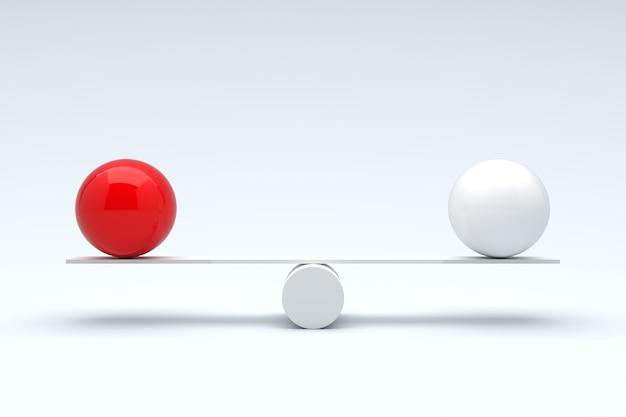 Balls balancing