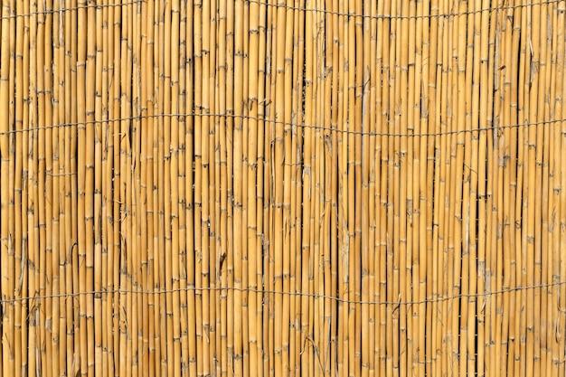 Бамбук фон старый бамбуковый забор