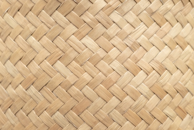 Bamboo basket texture for use as background . woven basket pattern and texture.