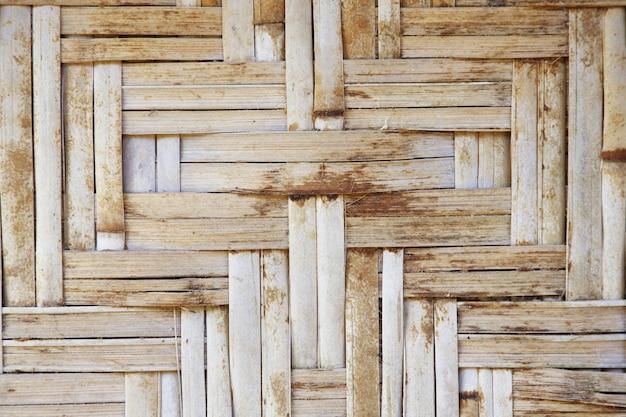 Bamboo lattice aged