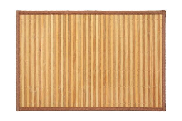 白の竹マットテクスチャ背景