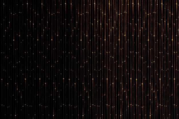 竹模様のカーテンの織り目加工の背景