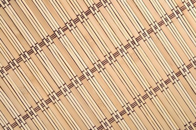 竹のテーブルクロス