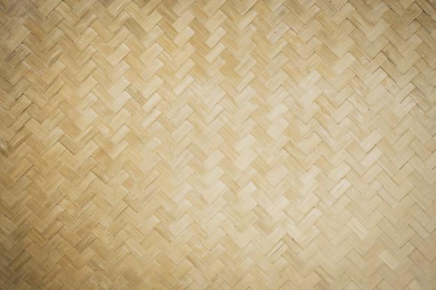 Бамбуковый плетеный фон Premium Фотографии